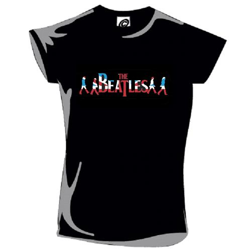 Beatles Black T Shirt