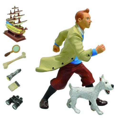 Tintin Milou Milou And Tintin Miniatures