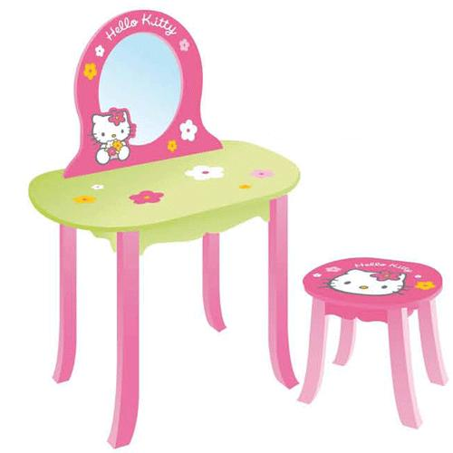 Hello Kitty dressing table with stool. Kitty dressing table with stool