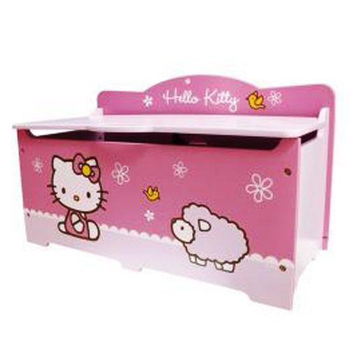 Hello Kitty Toy Bin : Hello kitty toy box