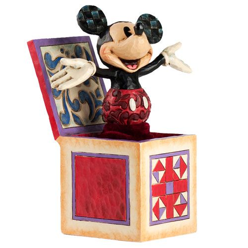 Mickey Mouse Jack In The Box Figure Collection