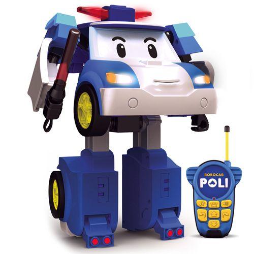 Robocar poli poli radio control and convertible vehicle - Radio car poli ...