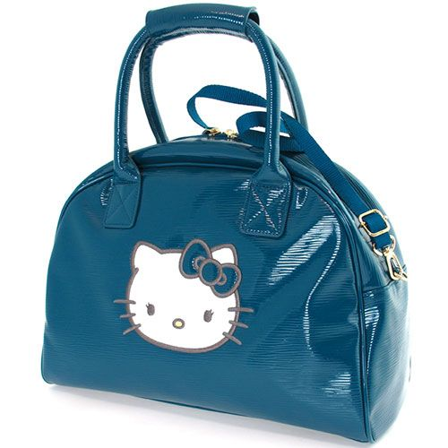Hello Kitty By Camomilla Blue Travel Bag