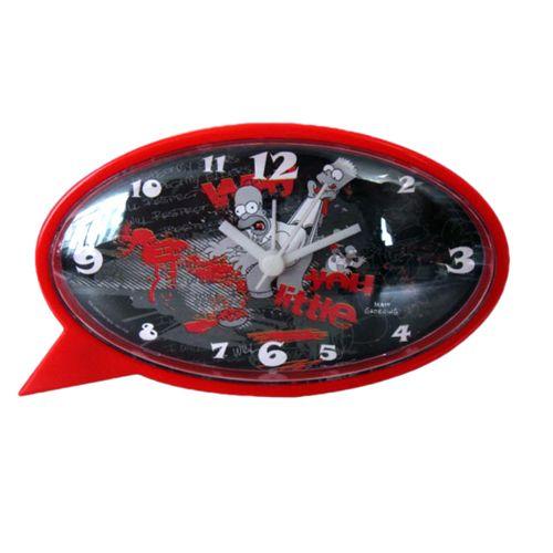 Bart and homer simpsons oval alarm clock - Reveil simpson ...