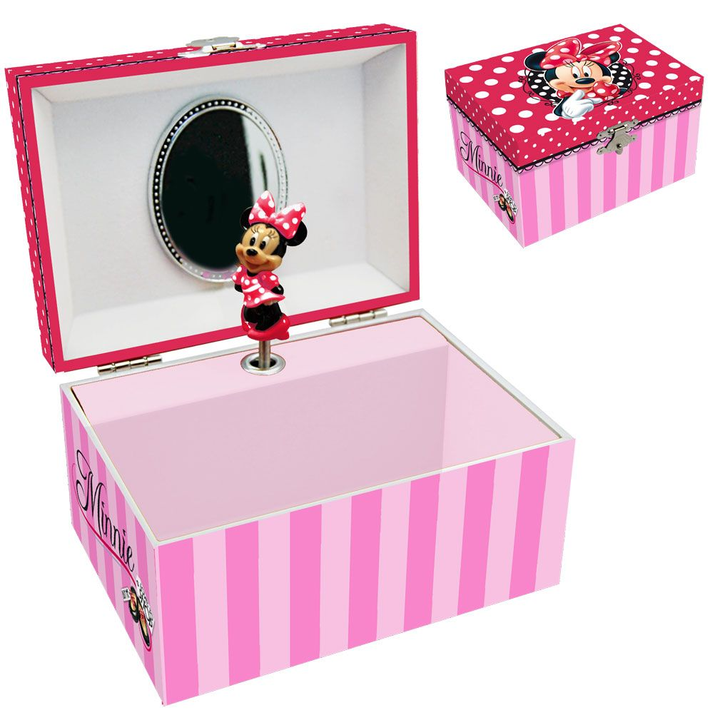 disney minnie mouse musical jewelry box ForMinnie Mouse Jewelry Box