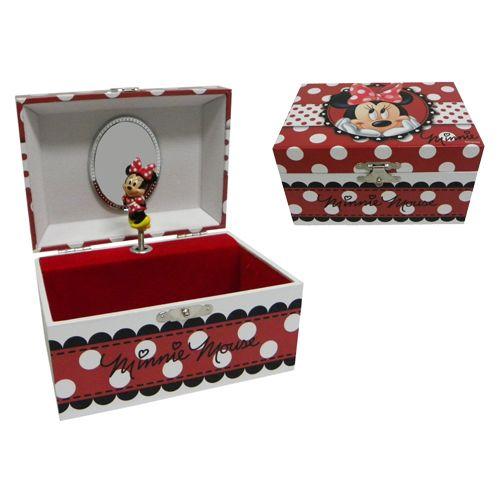 Wonder geek for Minnie mouse jewelry box