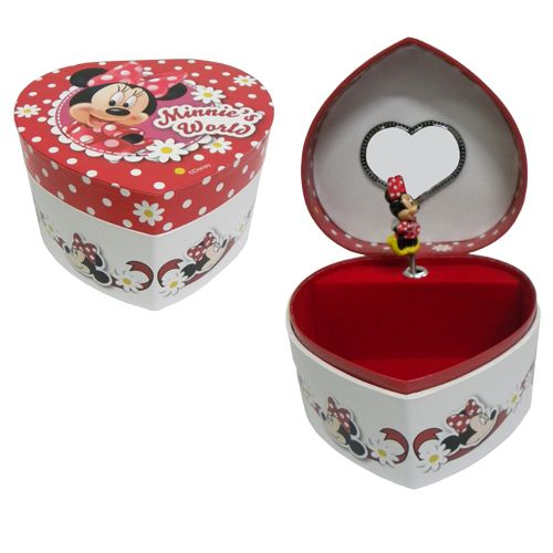 Musical minnie mouse jewelry box for Minnie mouse jewelry box