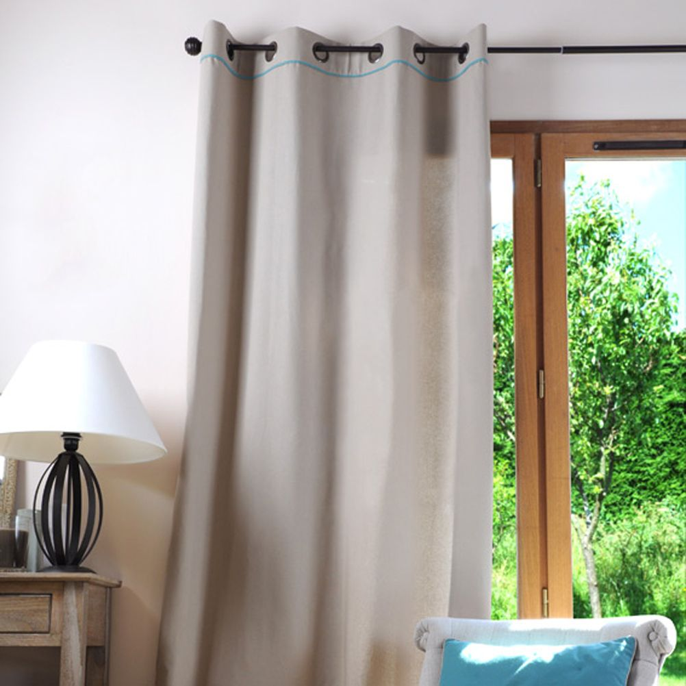 how to put eyelets in curtains