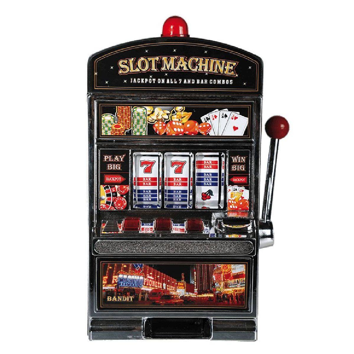 slot machine money