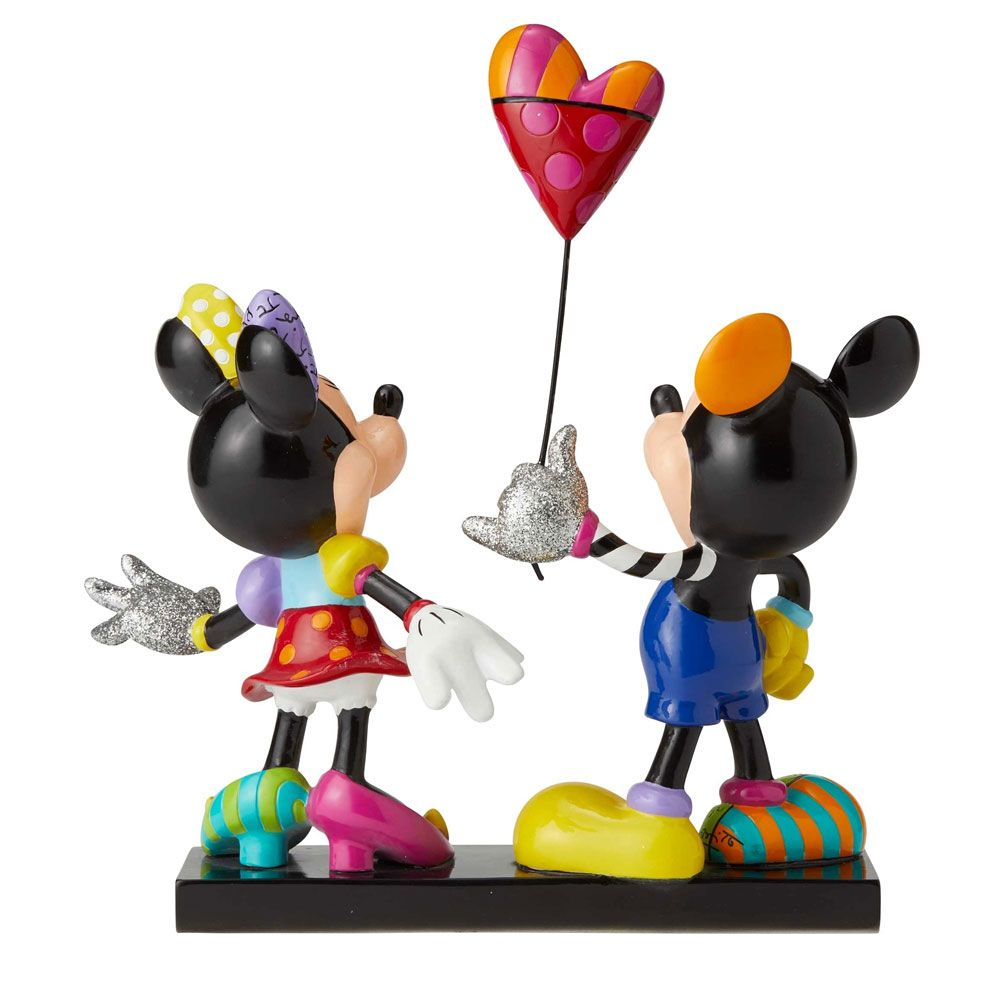 Disney By Britto Mickey And Minnie Mouse limited Edition