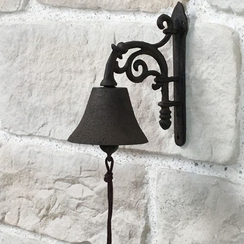 Cast Iron Wall Bell 20 cm