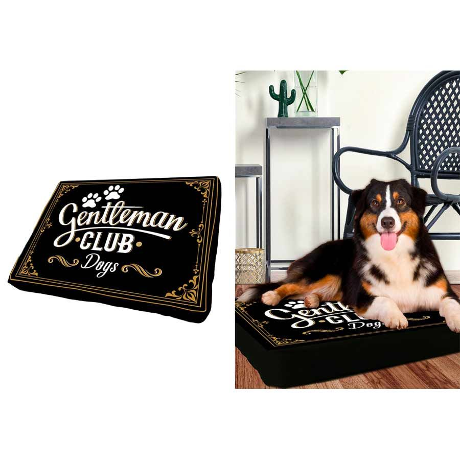 Cushion for dog- Gentleman Dog