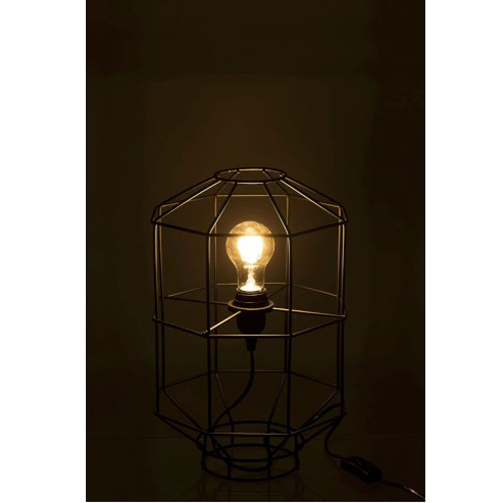 Metal Lamp Black 38 cm