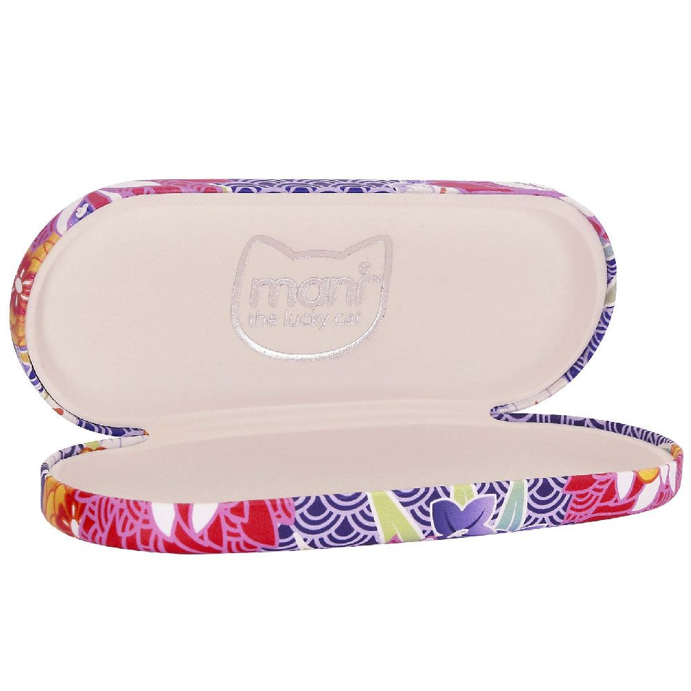 Mani The Lucky Cat Glasses case