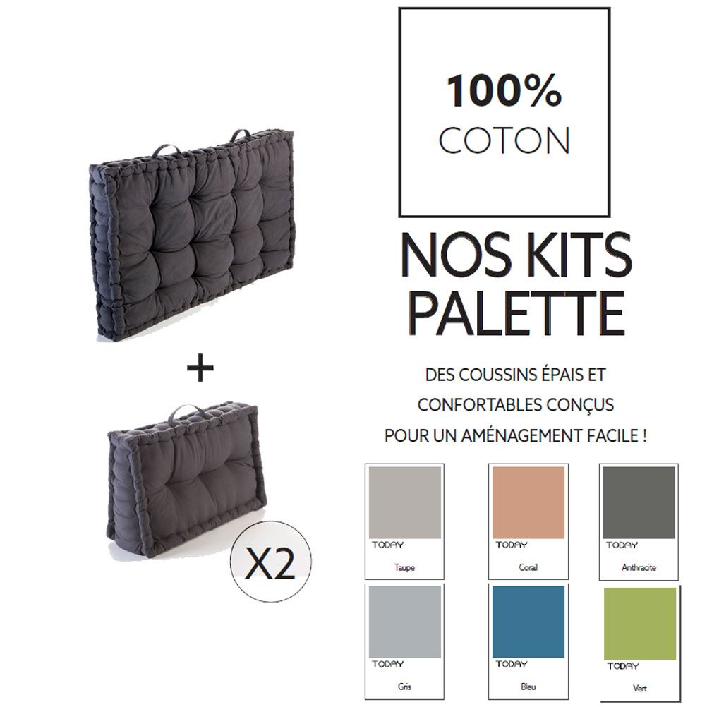 Cotton Pallet Kit - Green color - Delivery to March 20th