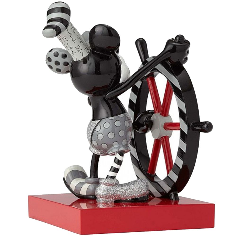 Mickey Mouse Streamboat Willie Figure Collection By Britto