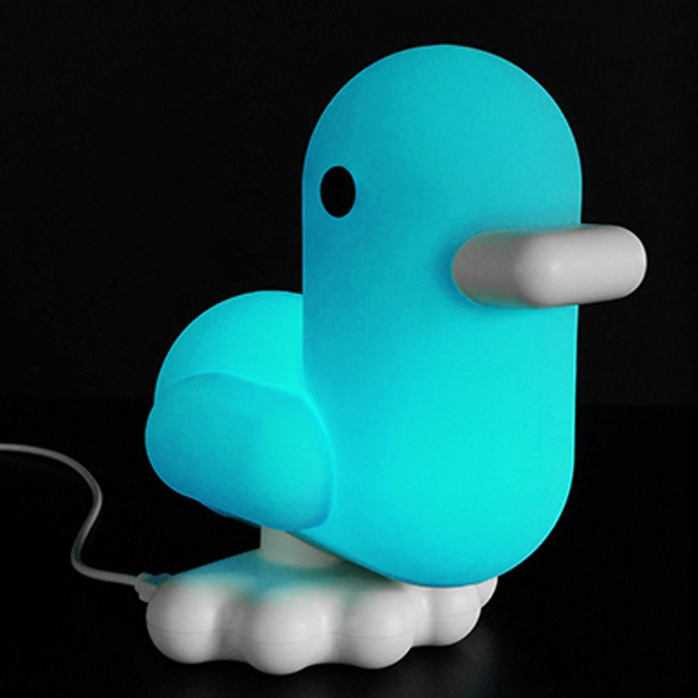 Canard the Duck night light - Blue