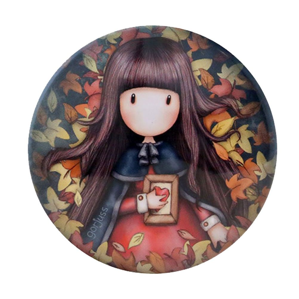 Gorjuss trinket tin Box - Autumn Leaves