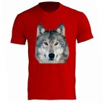 Wolf Red Tee Shirt