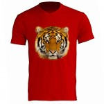 Tiger Red Tee Shirt