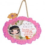 Verity Rose Starlet Decorative plate