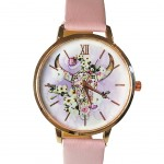 Apache Women's watch - Pink Buffalo Head