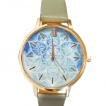 Apache Women's watch - Blue Mandala