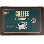 Retro Coffee Placemat