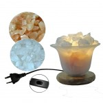 Rock Crystal and Salt Lamp