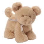 GUND my first Oh So Soft Puppy Tan Rattle plush