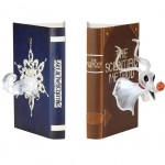 Illuminating book clamp - The nightmare before Christmas