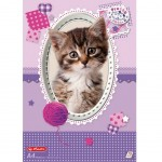 75 sheets white drawing sheet Cat cover