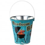 Small Metal Beer Bucket 18 x 18 cm - Barbecue
