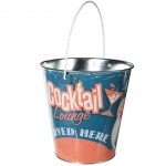 Small Metal Beer Bucket 18 x 18 cm - Cocktail Lounge