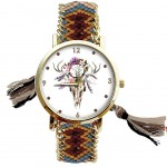 Apache Women's watch - multicolor Buffalo Head