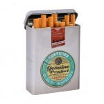 Quality Inspected - little metal cigarettes box