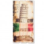 Italia large wooden wall decoration 60 cm