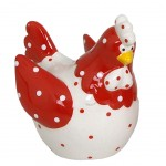 White Hen Figurine decorative - small model