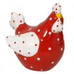 Red Hen Figurine decorative - small model