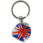 London metal keyring - Union Jack Purse