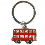 London metal keyring - Bus