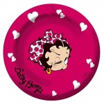 Betty Boop métal ashtray - Hussy