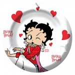 Betty Boop métal ashtray - Peace