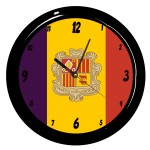 Andorre clock by Cbkreation