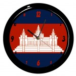 Cambodge clock by Cbkreation