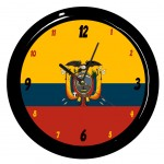 Equateur clock by Cbkreation