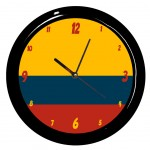 Colombie clock by Cbkreation