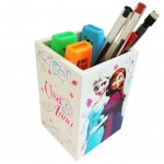 Frozen Disney White pencil pot