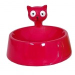 Pink bowl for Cat