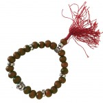 Buddhist Bracelet wooden beads - Brown